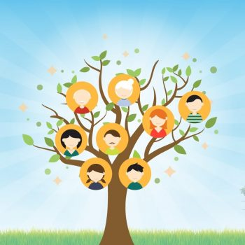 árbol genealógico niños 1