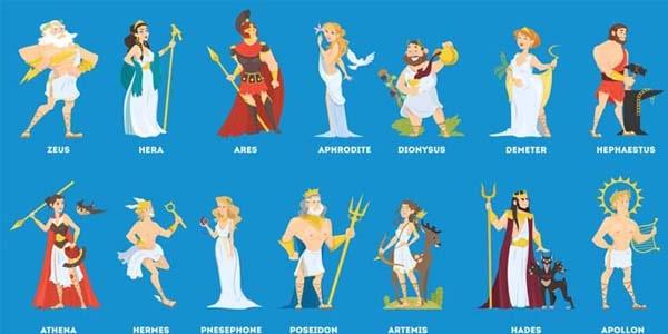 Árbol Genealógico de los Dioses Griegos