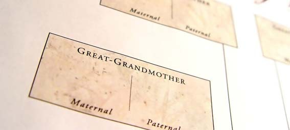 Registro genealógico familiar